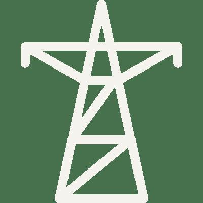 solar energy grid integration icon